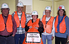Mendocino Peace and Justice Center volunteers